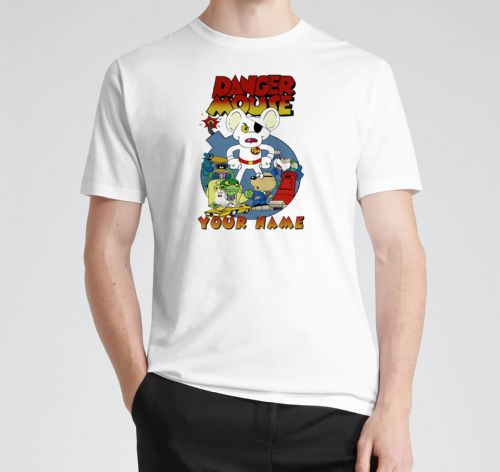 Personalised Danger Mouse Tee